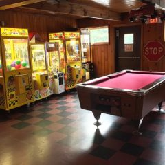 Pool table & more games